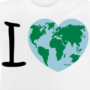 I love Earth Sudaderas - Camiseta bebé
