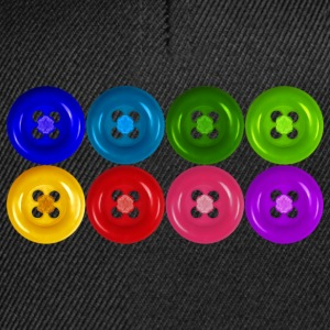 fake buttons: rainbow T-shirt - Snapback Cap