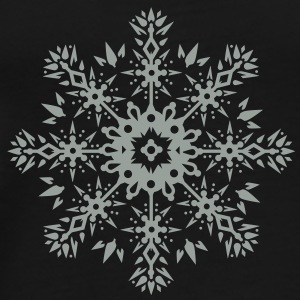Snowflake Ornament Design Umbrellas - Men's Premium T-Shirt