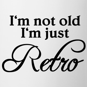 I'm not old, I'm just retro T-shirts - Kop/krus