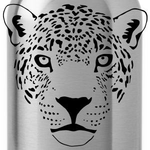 cougar cat  panther leopard cheetah Hoodies & Sweatshirts - Water Bottle