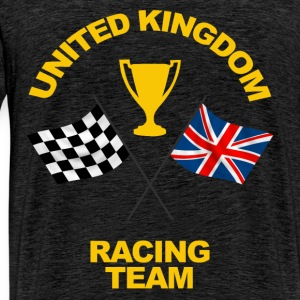 United Kingdom racing team Hoodies & Sweatshirts - Men's Premium T-Shirt