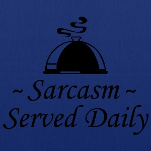 Sarcasm - Served Daily - Tote Bag