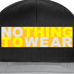 Nothing to wear T-skjorter - Snapback-caps