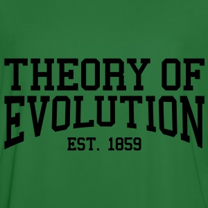 Theory of Evolution - Est. 1859 (Over-Under) Hoodies & Sweatshirts - Men's Football Jersey