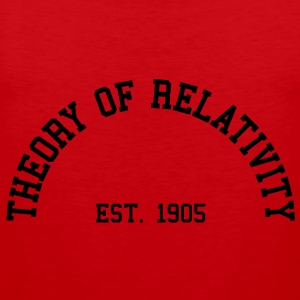 Theory of Relativity - Est. 1905 (Half-Circle) Hoodies & Sweatshirts - Men's Premium Tank Top