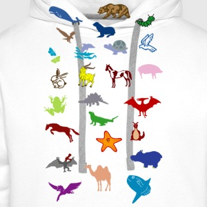 animals_25 Shirts - Men's Premium Hoodie