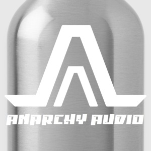 Anarchy Audio Logo White T-Shirts - Water Bottle