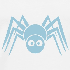 spider 1c friendly Teddybeer - Mannen Premium T-shirt