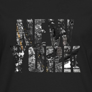New york.png Tee shirts - T-shirt manches longues Premium Homme