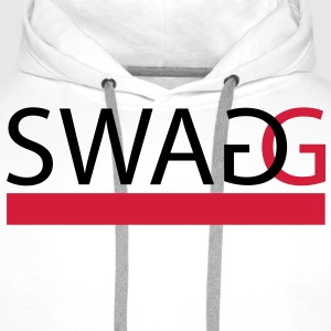 Swagg (In every colour possible) T-Shirts - Men's Premium Hoodie