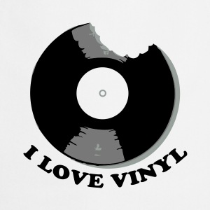 I Love Vinyl Tee shirts - Tablier de cuisine