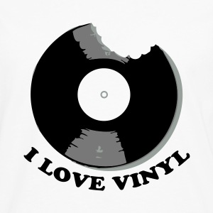 I Love Vinyl Tee shirts - T-shirt manches longues Premium Homme