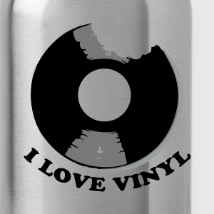 I Love Vinyl Tassen - Drinkfles