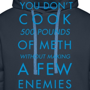 You don't cook - Sweat-shirt à capuche Premium pour hommes