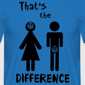 That's the difference - Männer T-Shirt