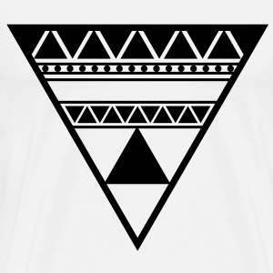Triangle in a Triangle - Männer Premium T-Shirt