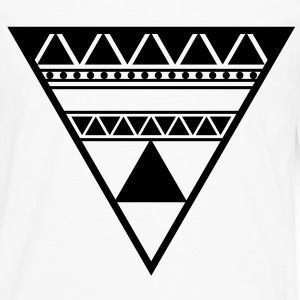 Triangle in a Triangle - Männer Premium Langarmshirt