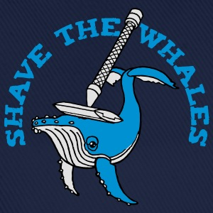 Shave the Whales T-Shirts - Baseball Cap