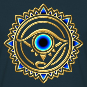 Horus eye, Egypt, protection, magic & strength, T-shirts - Men's T-Shirt