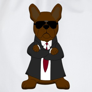 Bodyguard French Bulldog T-shirts - Sportstaske