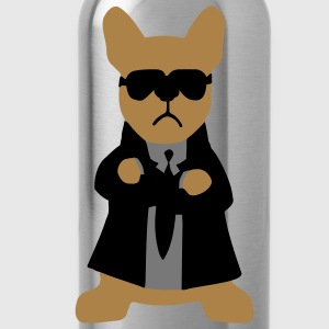 Bodyguard French Bulldog  Aprons - Water Bottle