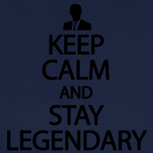 Keep calm and stay legendary T-Shirts - Baseballkappe