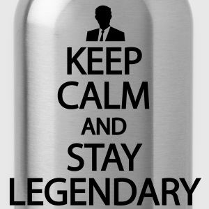 Keep calm and stay legendary T-Shirts - Water Bottle