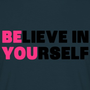 Believe in Yourself Sweaters - Mannen T-shirt