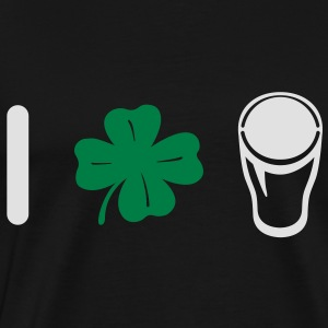 I Love Pint - Clover  Hoodies & Sweatshirts - Men's Premium T-Shirt