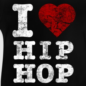 i_love_hiphop02_vintage_hell T-shirts - Baby T-shirt