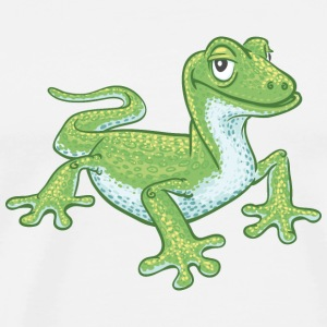 green gecko Bags & backpacks - Men's Premium T-Shirt