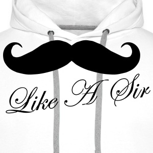 Like A Sir Tee shirts - Sweat-shirt à capuche Premium pour hommes