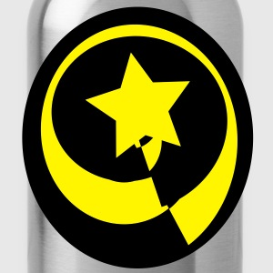 circle-star w - Water Bottle