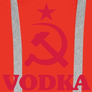 Vodka__V001 Tee shirts - Sweat-shirt à capuche Premium pour hommes