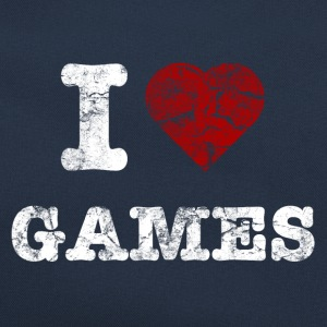 i_love_games_vintage_hell Pullover & Hoodies - Retro Tasche