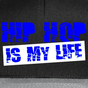 hip hop is my life Sweaters - Snapback cap