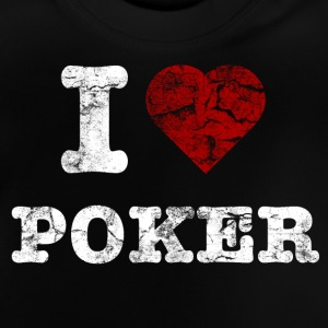 i_love_poker_vintage_hell Shirts - Baby T-Shirt