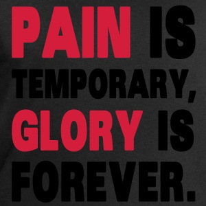 Pain Is Temporary, Glory Is Forever. T-shirts - Sweatshirt herr från Stanley & Stella