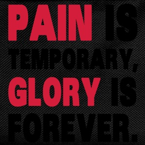 Pain Is Temporary, Glory Is Forever. Gensere - Ryggsekk for barn