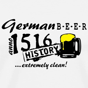1516_german_beer_vec_2 en - Men's Premium T-Shirt