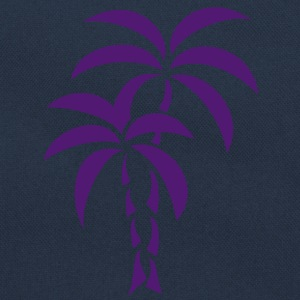 Palm Tree / Tattoo Style / Vector / Bluzy - Torba retro