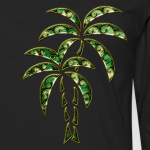 Palm Tree / Tattoo Style / DD / Hoodies & Sweatshirts - Men's Premium Longsleeve Shirt