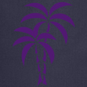 Palm Tree / Tattoo Style / Vector / T-Shirts - Cooking Apron