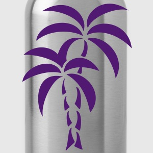 Palm Tree / Tattoo Style / Vector / T-Shirts - Water Bottle