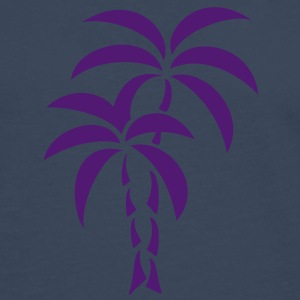 Palm Tree / Tattoo Style / Vector / T-shirts - Långärmad premium-T-shirt herr