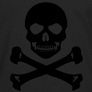 Pirate skull grin - Men's Premium Longsleeve Shirt