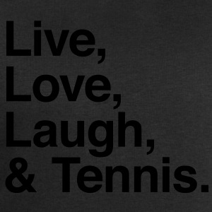 live love laugh and tennis Shirts - Men's Sweatshirt by Stanley & Stella