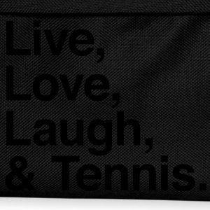 live love laugh and tennis Shirts - Kids' Backpack