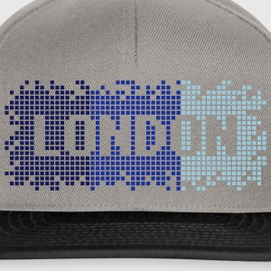 Brun / sand London Vesker - Snapback-caps